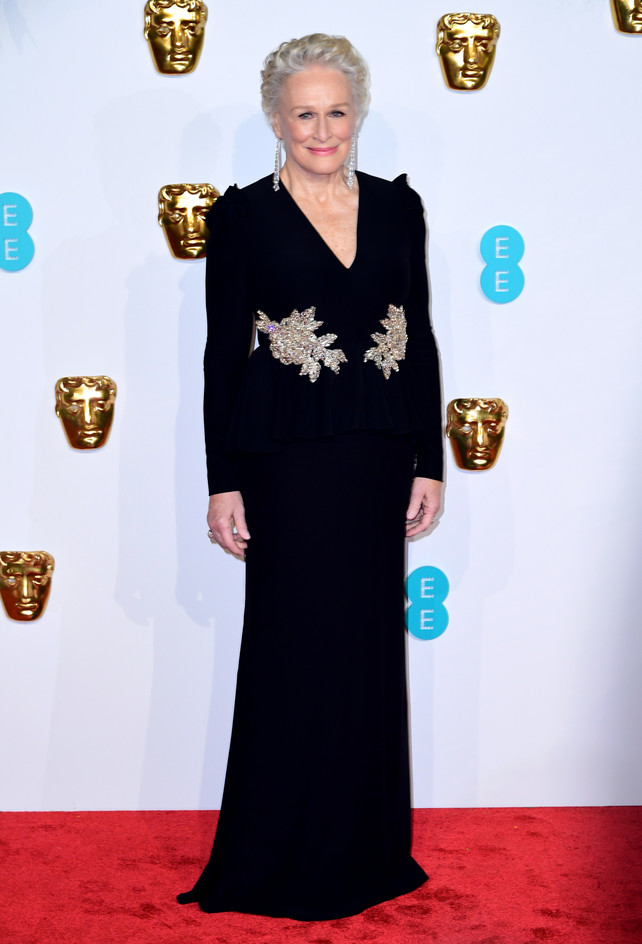 bafta-2019:-glenn-close